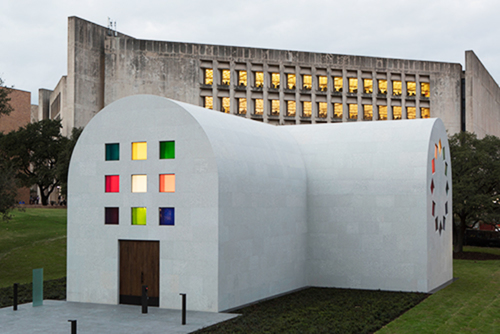 Blanton Museum: Form Into Spirit: Ellsworth Kelly's 'Austin'